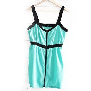 NWT! Teal Mini Dress Size M